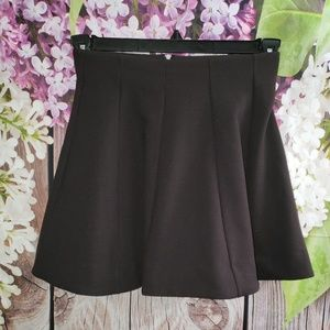Urban Outfitters Kimchi Blue Flare Skirt Black XS